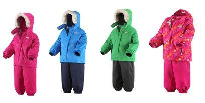 Детские зимние костюмы фирмы reima