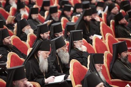 Архиерейский собор утвердил порядок выборов патриарха РПЦ.