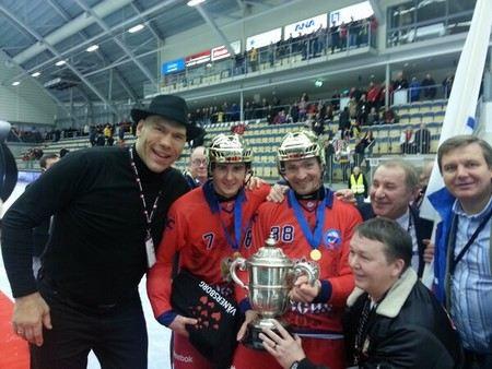 Николай Валуев пришел на стадион и напугал команду соперников