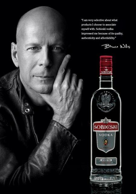 Брюс Уиллис собирается спасти производство водки Sobieski.