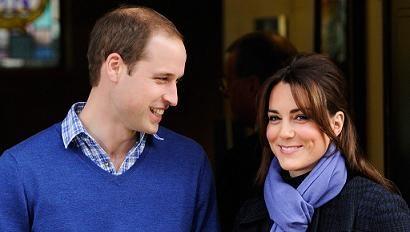 Принц Уильям и герцогиня Кембриджская Кейт