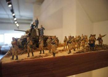 В музее Волгограда открылась выставка моделей военно-исторической миниатюры