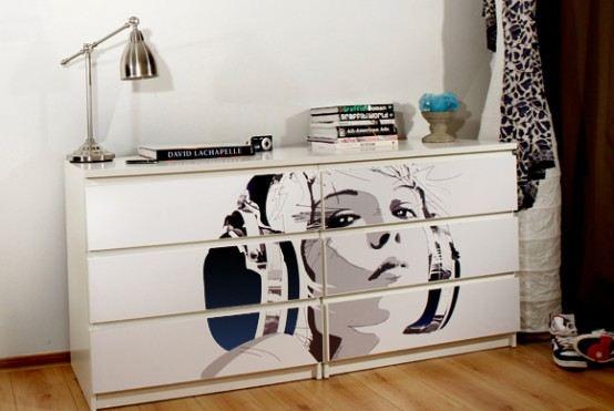 Ikea делает оригинальную мебель