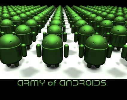 Андроид динамично развивается по всему миру
