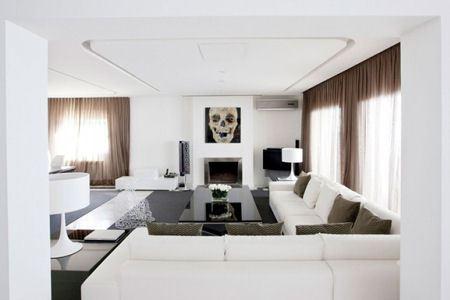 Освещение делает квартиру таинственной