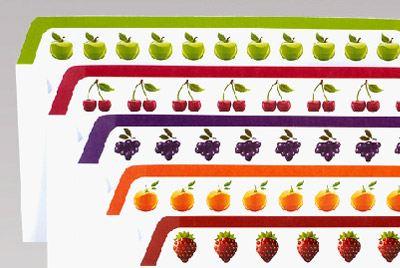 Конверты с фруктовыми и ягодными вкусами
