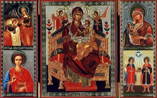 Икона Божией Матери - Всецарица.
