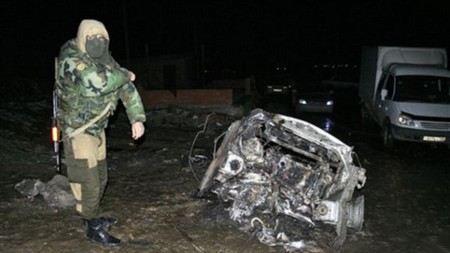 Количество погибших от взрыва на посту ДПС в Дагестане увеличилось до 4 человек.