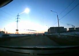 Огненный шар над Челябинском.