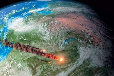 К Земле на расстояние 27,7 тыс. км приблизится астероид размером 45 м и весом 130 тыс. тонн.