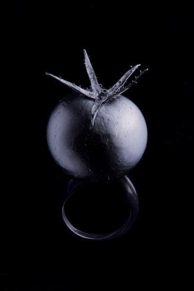 Кольцо-помидорка
