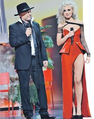 Сомнительное платье Полины Гагариной