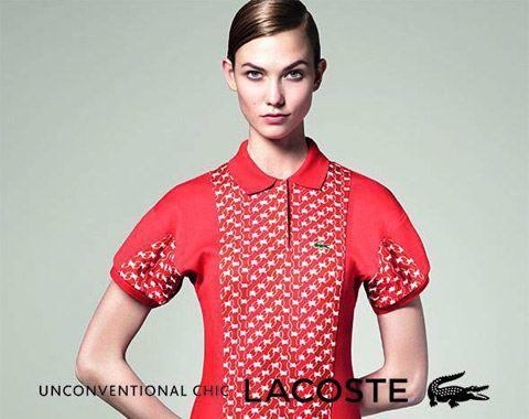 Карли Клосс - рекламное лицо «Lacoste»