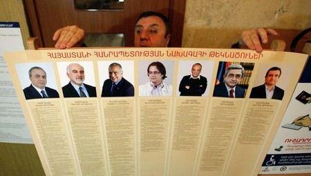 ЦИК Армении опубликовал данные после обработки данных со 100% избирательных участков.