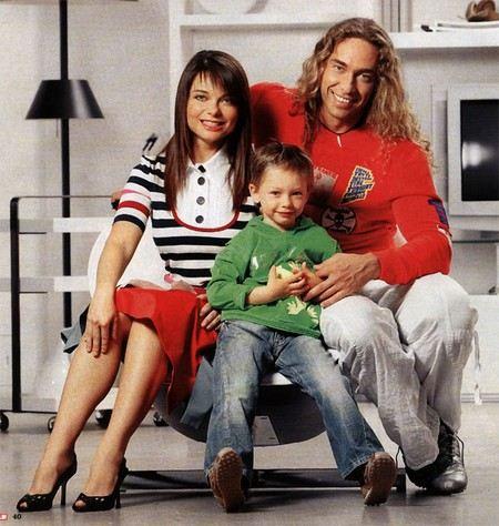 Сыну Наташи Королевой и Тарзана Архипу исполнилось 11 лет.