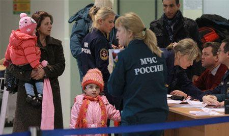 В Россию из Сирии доставлены 99 человек, пожелавших покинуть зону конфликта.