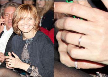 Дапкунайте показала свое обручальное кольцо