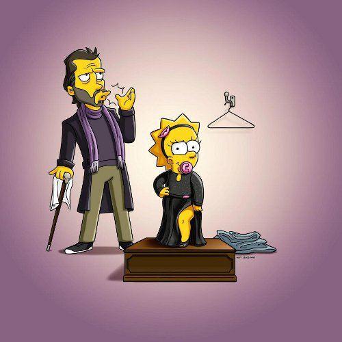 Мэгги Симпсон выбирает наряд для Оскара