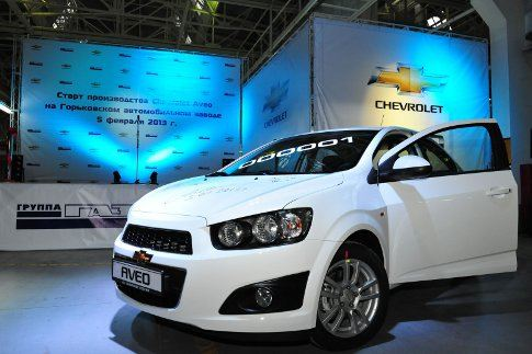 ГАЗ выпускает Chevrolet Aveo