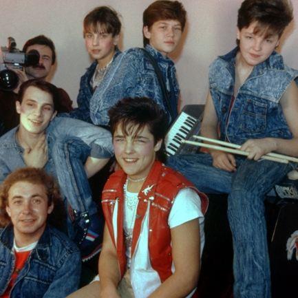 Первый состав группы «Ласковый май»
