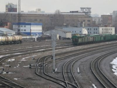 Most of the cargo in the Russian Federation is transported by rail