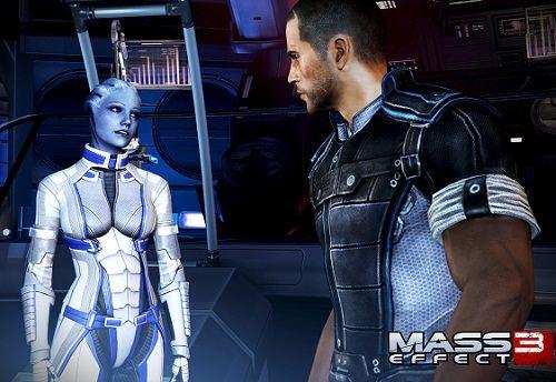 Кадр из игры Mass Effect 3.