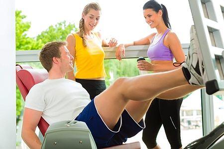 Фитнес-клуб не ради спорта