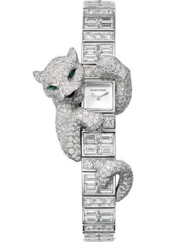 Часы с пантерой