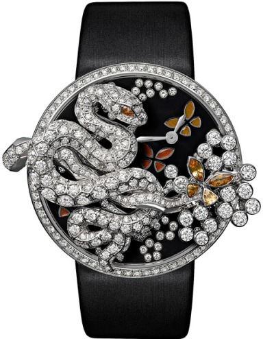 Часы со змеей