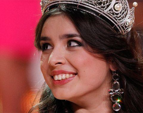 Эльмира Абдразакова стала обладательницей титула «Мисс Россия 2013»