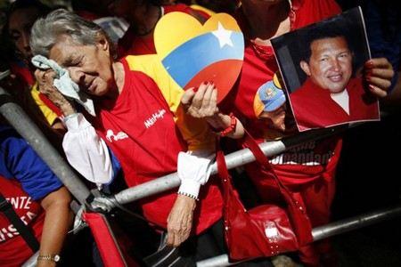 Умер президент Венесуэлы Уго Чавес.