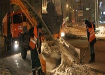 Коварные дороги Ульяновска заставили работать 26 единиц спецтехники