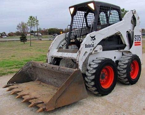 Мини-погрузчик Bobcat S175.