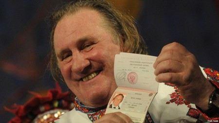 Жерар Дерпардье получил гражданство России