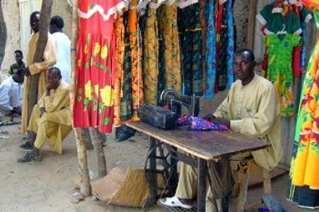 Мелких торговцев в Кении много