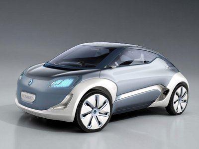 Renault Zoe - образец экологичности