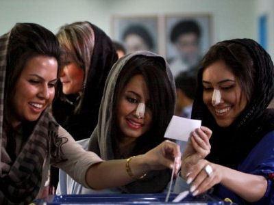 Иран - столица ринопластики