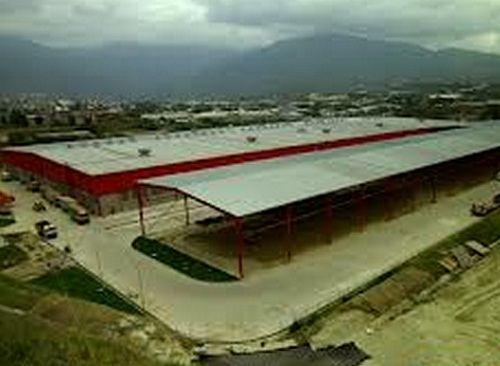 Завод строительных материалов в г. Гуатире (штат Миранда).