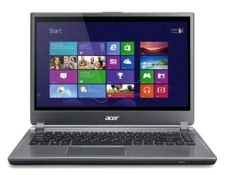 Ноутбук с сенсорным экраном Acer
