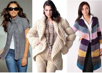 Объемный свитер из толстой пряжи - Вязание, вязание спицами Вязание для мальчиков спицами - Первая