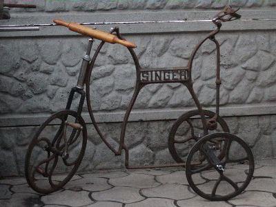 Велосипед из швейной машинки