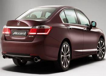 В России начались продажи Honda Accord