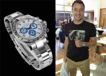 Капитан футбольной команды Chelsea Джон Терри оценил дорогой подарок