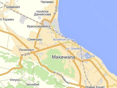 В Махачкале введен режим КТО.