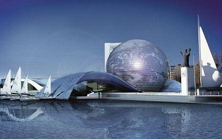 Проект реконструкции Музея Мирового океана