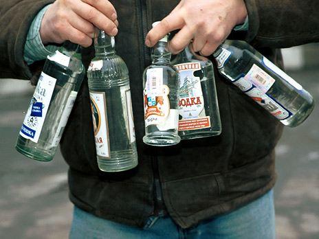 За 2 месяца 2013 года продажи водки в России упали на 20-25%.