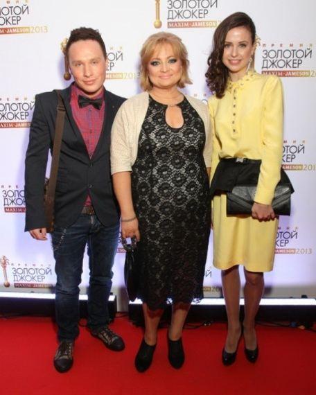 Светлана Пермякова с коллегами на последнем светском мероприятии