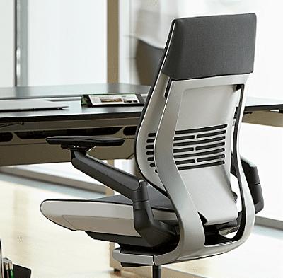 Новая разработка компании «Steelcase»: кресло «Gesture»