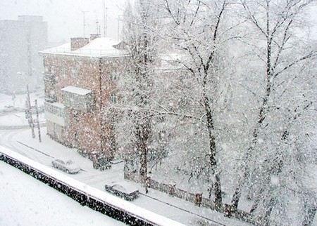 Снегопад в Москве сменится дождем