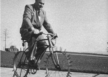 Мастер создал уникальный «ежистый» велосипед